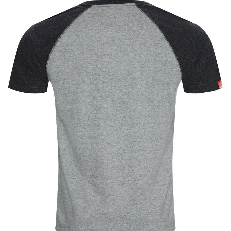 M1010 - M1010 T-shirt - T-shirts - Regular - GRÅ/KOKS SXT - 2